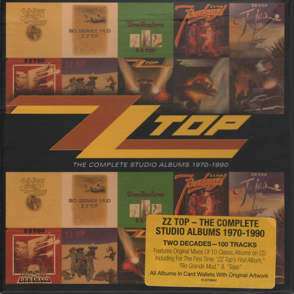 ZZ Top ‎– The Complete Studio Albums 1970-1990 (10 CDs)