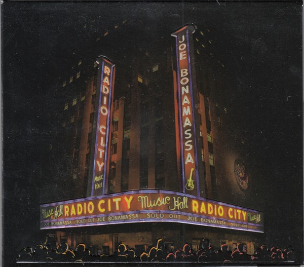 Joe Bonamassa ‎– Live At Radio City Music Hall (CD & DVD)
