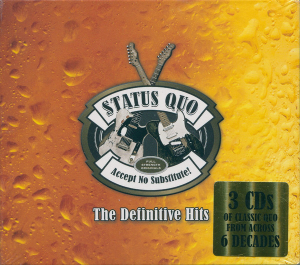 Status Quo – Accept No Substitute! The Definitive Hits (3 CDs)
