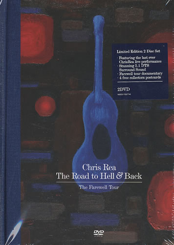 Chris Rea ‎– The Road To Hell & Back (The Farewell Tour) (2 DVDs)