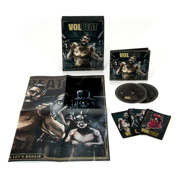 Volbeat ‎– Seal The Deal & Let\'s Boogie (Box Set, Deluxe Edition, Limited Edition, 2 CDs)