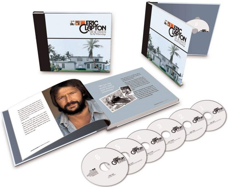 Eric Clapton ‎– Give Me Strength (The \'74/\'75 Recordings) (5CDs&1Blu-Ray)
