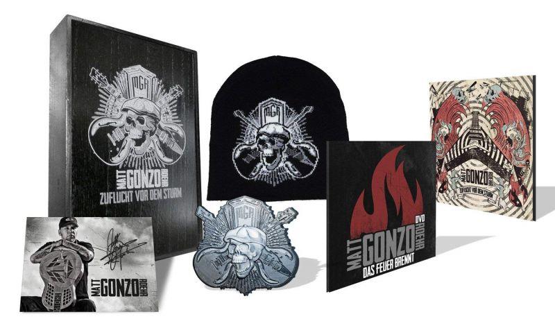 Matt Gonzo Roehr – Zuflucht vor dem Sturm (Box Set, Limited Edition, Numbered 0669/1200, Woodbox CD, Album