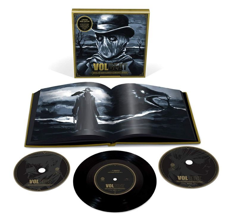Volbeat ‎– Outlaw Gentlemen & Shady Ladies (Box Set, Limited Edition )
