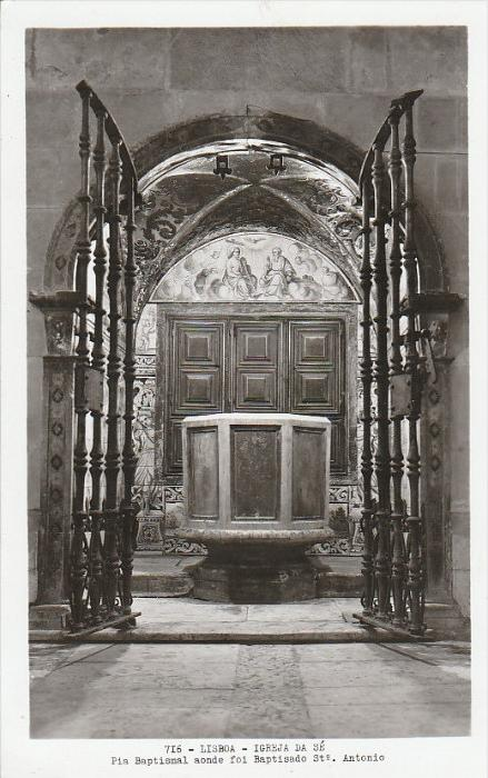 2990. 1930er Jahre. Ungelaufene Photoansichtskarte vom Igreja da Sé im Lisboa. Q1!