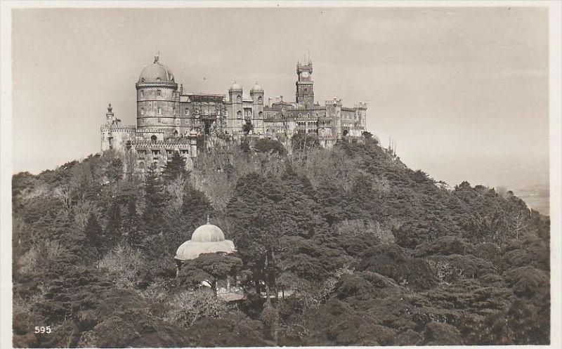 2992. 1930er Jahre. Ungelaufene Photoansichtskarte vom Schloß Pena im Lisboa. Q1!
