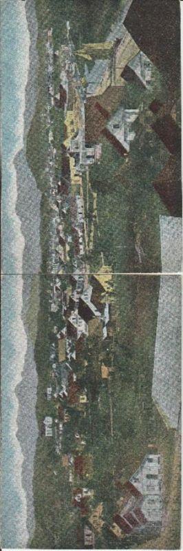 2994. 1920er Jahre. Ungelaufene Panorama Ansichtskarte vom Portugalien. Q2!