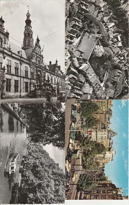 4169. 88 Stück niederländische Photoansichtskarte aus 1950-60er Jahren, im gute Erhaltung. Q1!