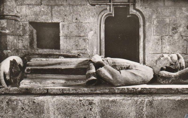 4659. 1950er Jahren, ungelaufene Photoansichtskarte vom Graben im Kremsmünster. Q1!