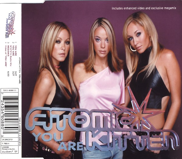 Atomic Kitten - You Are [CD-Single]