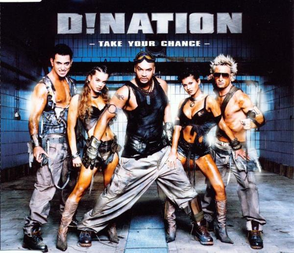 D!Nation - Take Your Chance [CD-Single]
