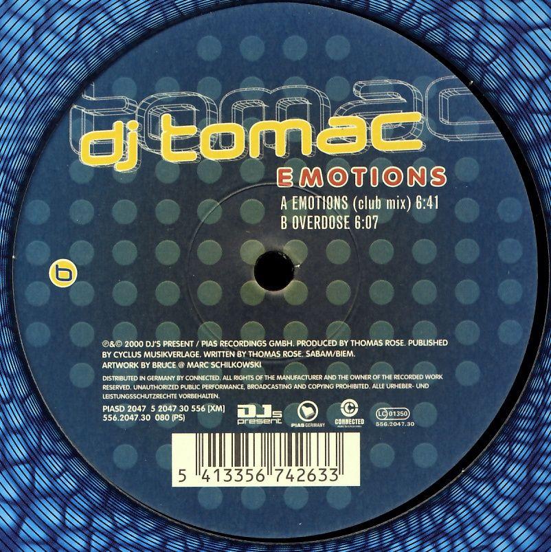 "DJ Tomac - Emotions [12"" Maxi]"