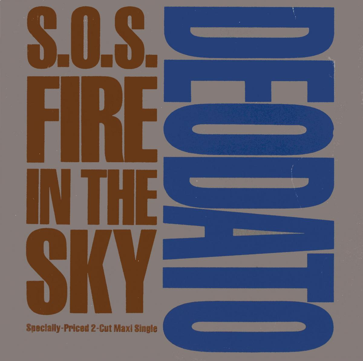 """Deodato - S.O.S. Fire In The Sky [12"""" Maxi]"""