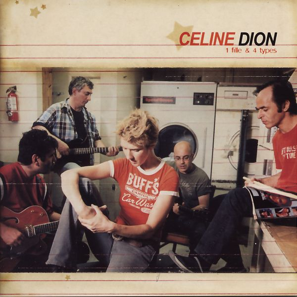 Dion, Celine - 1 Fille & 4 Types [CD]