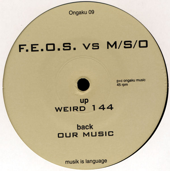 "FEOS vs. M/S/O - Our Music [12"" Maxi]"