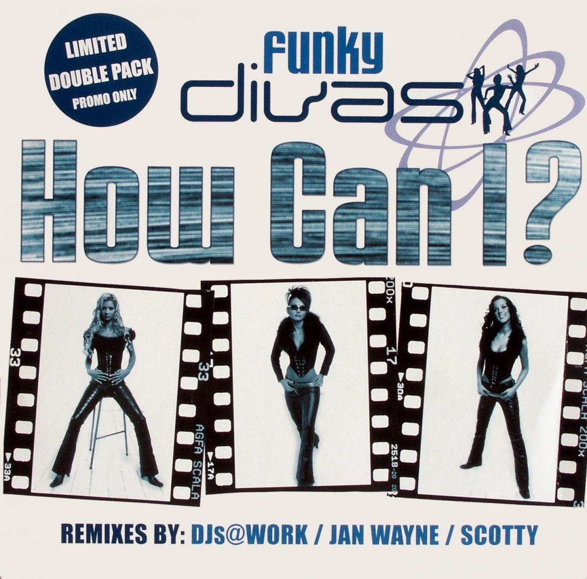 """Funky Divas - How Can I [12"""" Maxi]"""