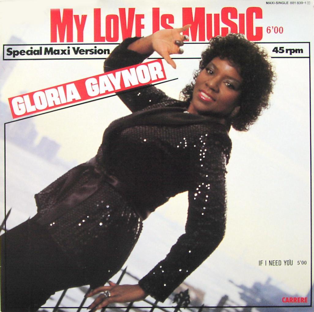 "Gaynor, Gloria - My Love Is Music [12"" Maxi]"