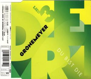 Grönemeyer, Herbert - Du Bist Die [CD-Single]