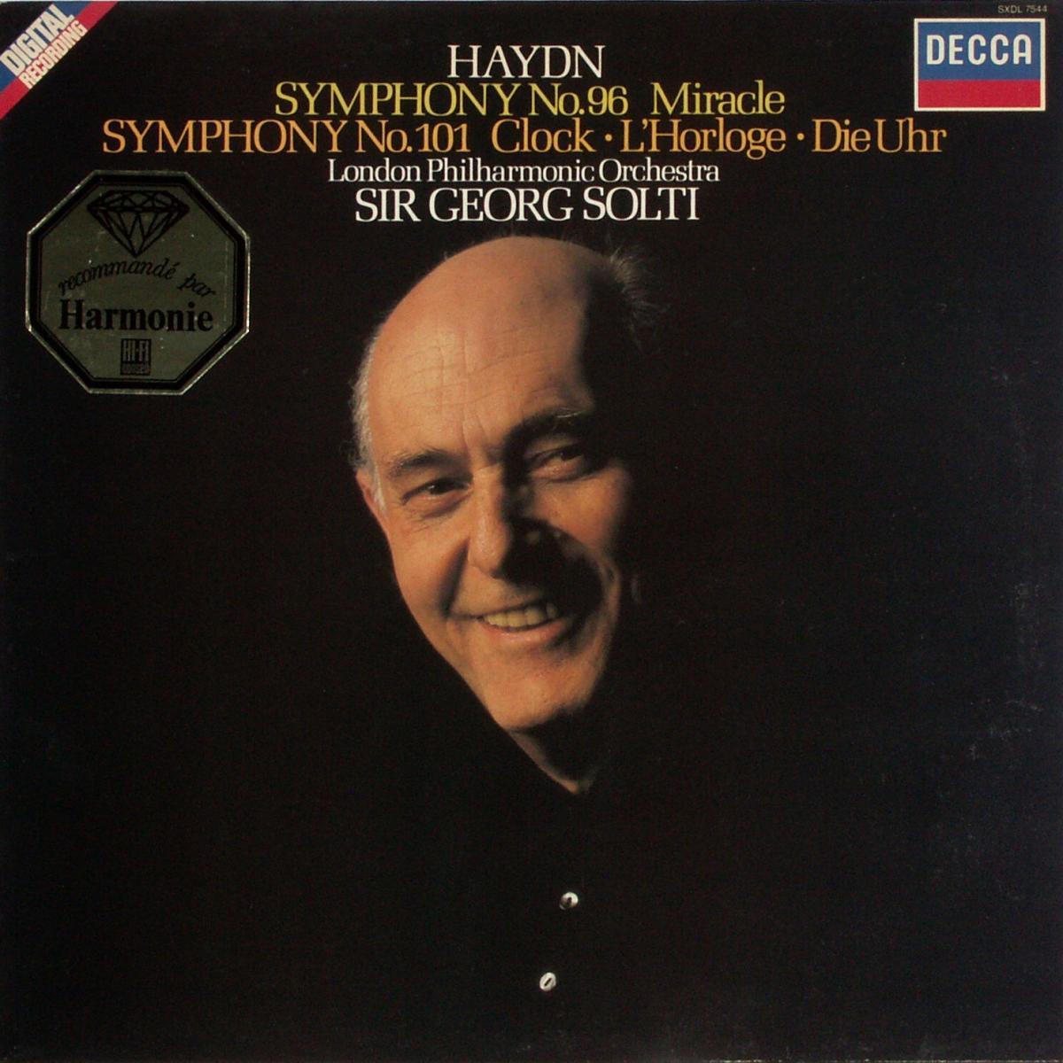 Haydn, Joseph - Symphony No. 96 & No. 101 [LP]