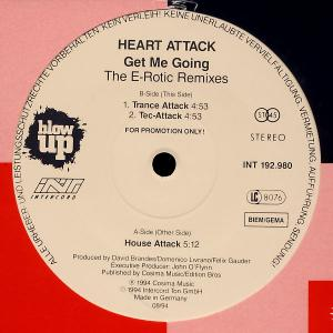 """Heart Attack - Get Me Going [12"""" Maxi]"""