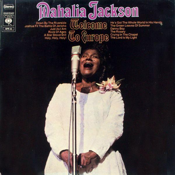 Jackson, Mahalia - Welcome To Europe [LP]