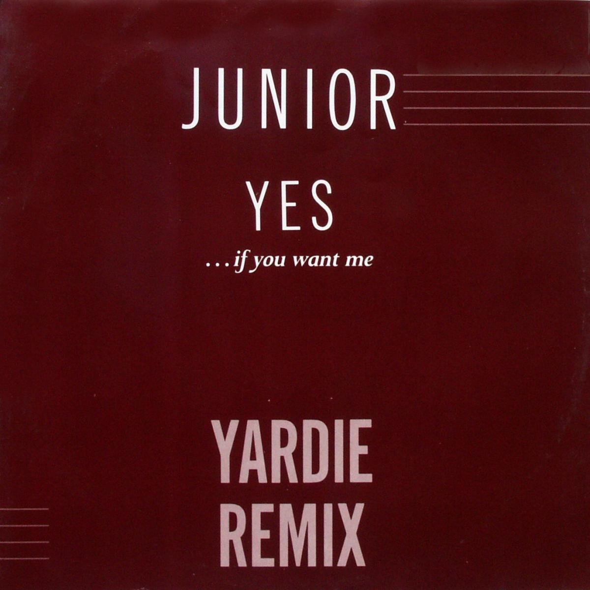 """Junior - Yes (If You Want Me) [12"""" Maxi]"""