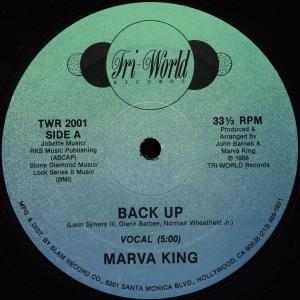 "King, Marva - Back Up [12"" Maxi]"