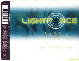 Lightforce - Take Your Time (The Riddle '99) [CD-Single]