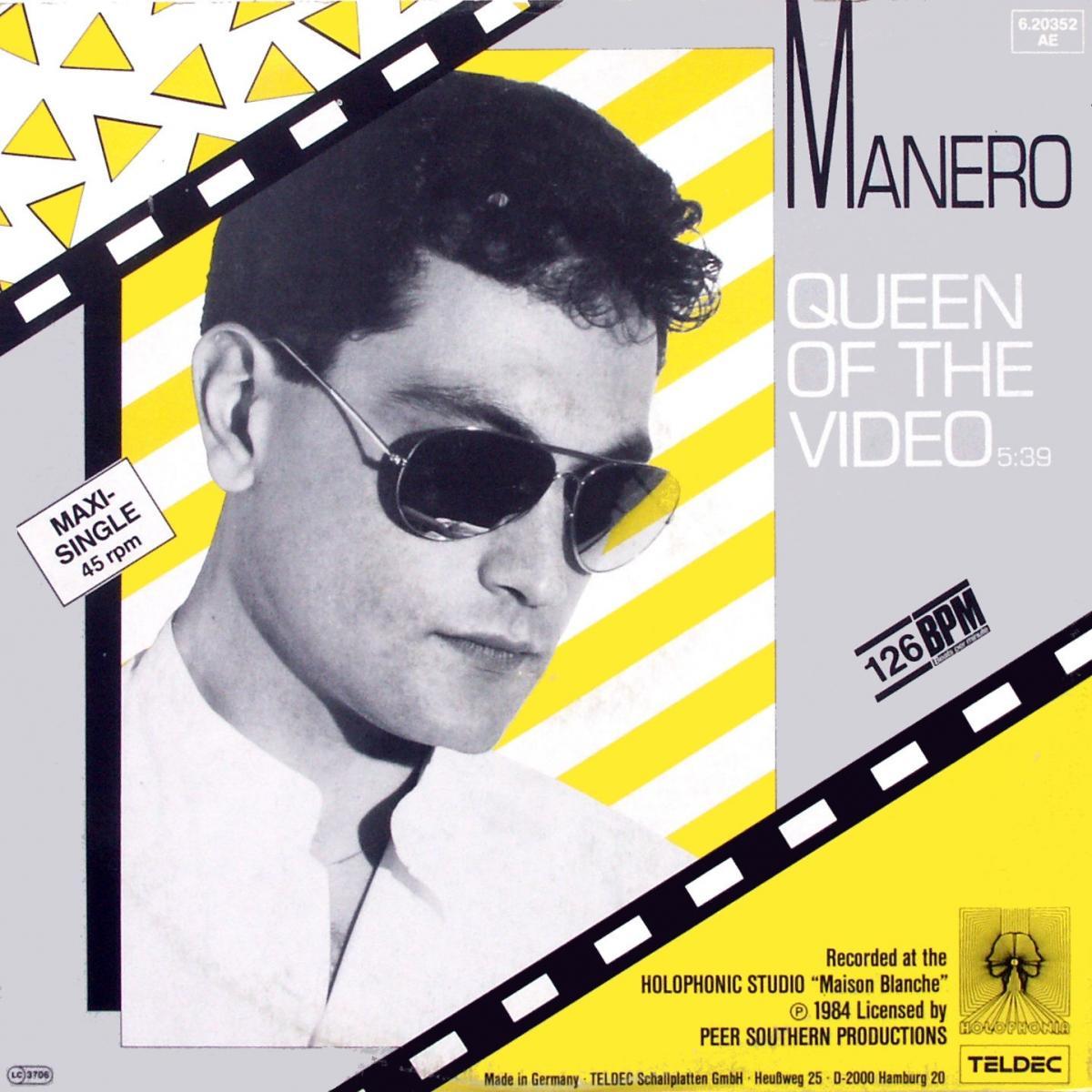 """Manero - Queen Of The Video [12"""" Maxi]"""