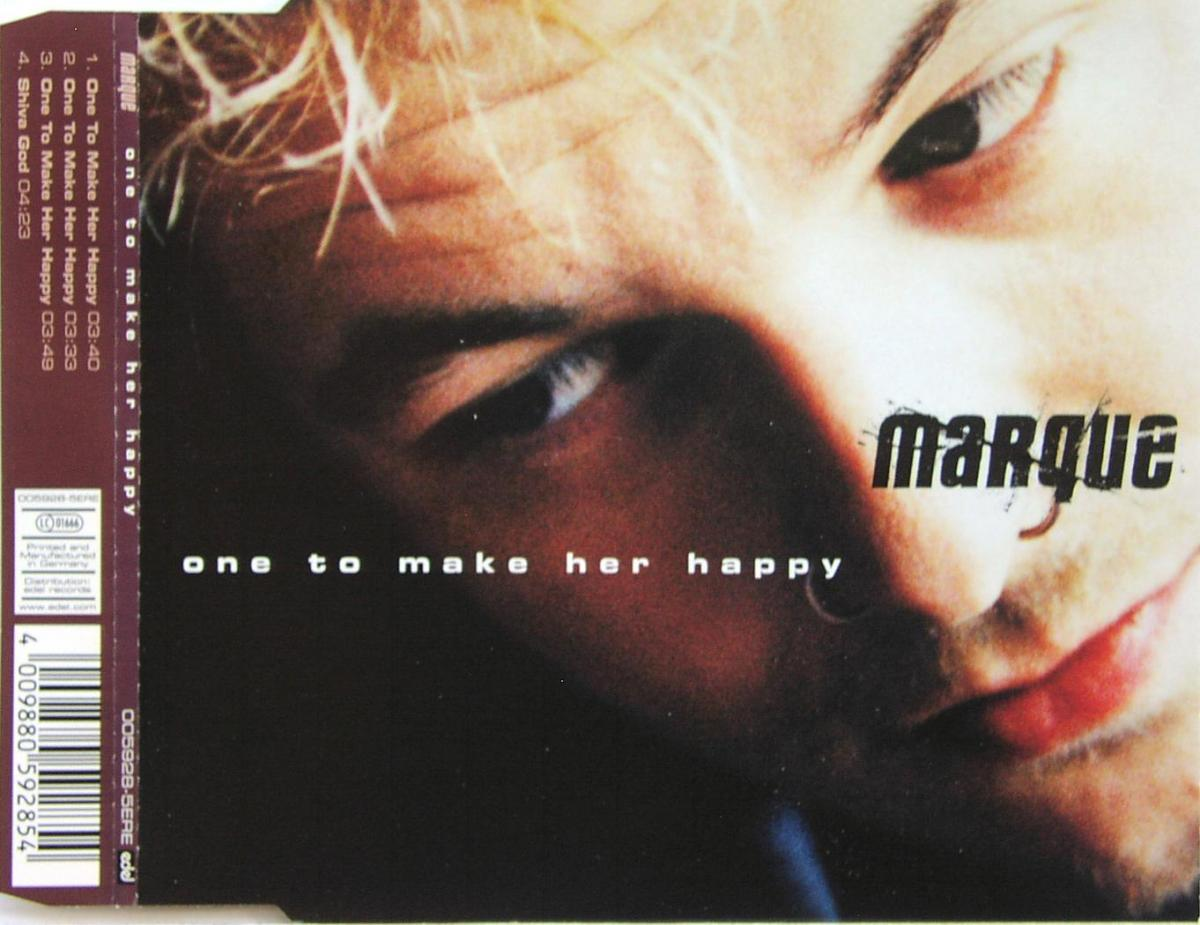 Marque - One To Make Her Happy [CD-Single]