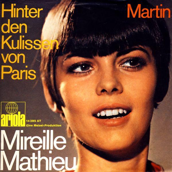 """Mathieu, Mireille - Hinter Den Kulissen Von Paris [7"""" Single]"""