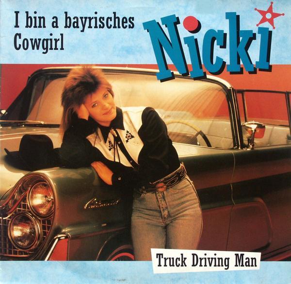 """Nicki - I Bin Ein Bayrisches Cowgirl [12"""" Maxi]"""