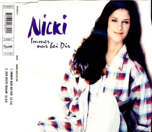 Nicki - Immer Nur Bei Dir [CD-Single]