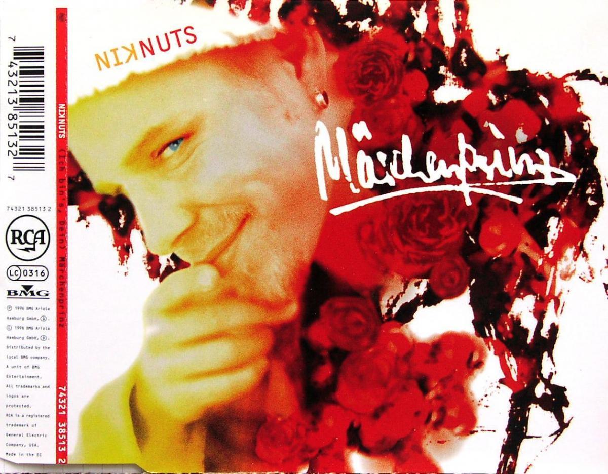 Nik Nuts - (Ich Bin's, Dein) Märchenprinz [CD-Single]