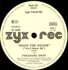 "Pressure Drop - Rock The House [12"" Maxi]"