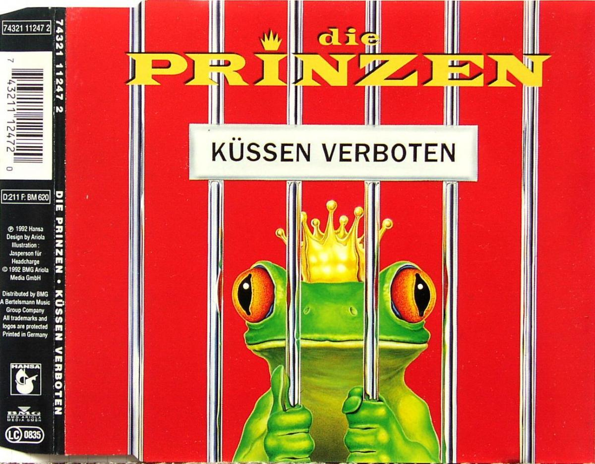 Prinzen - Küssen Verboten [CD-Single]