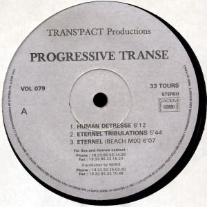 "Progressive Transe - Human Detresse [12"" Maxi]"