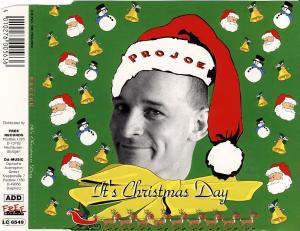 Projoe - It's Christmas Day [CD-Single]