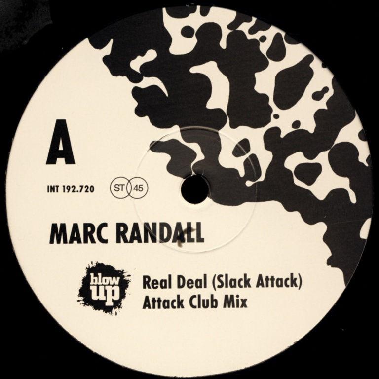 """Randall, Marc - Real Deal (Slack Attack) [12"""" Maxi]"""