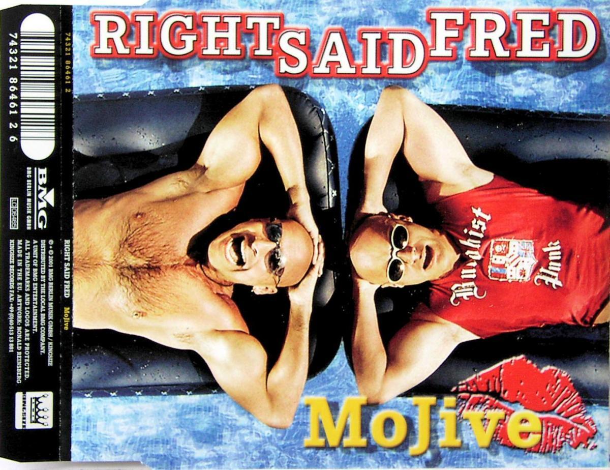 Right Said Fred - Mojive [CD-Single]
