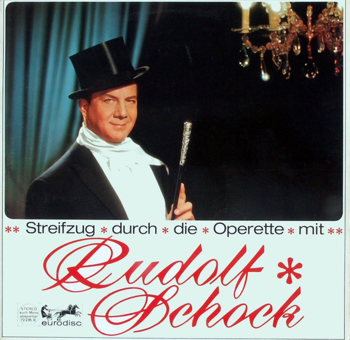 Schock, Rudolf - Streifzug Durch Die Operette Mit Rudolf Schock [LP]