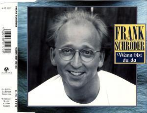 Schröder, Frank - Wann Bist Du Da [CD-Single]