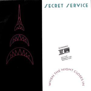 """Secret Service - When The Night Closes In [12"""" Maxi]"""