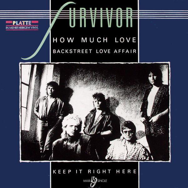 """Survivor - How Much Love [12"""" Maxi]"""