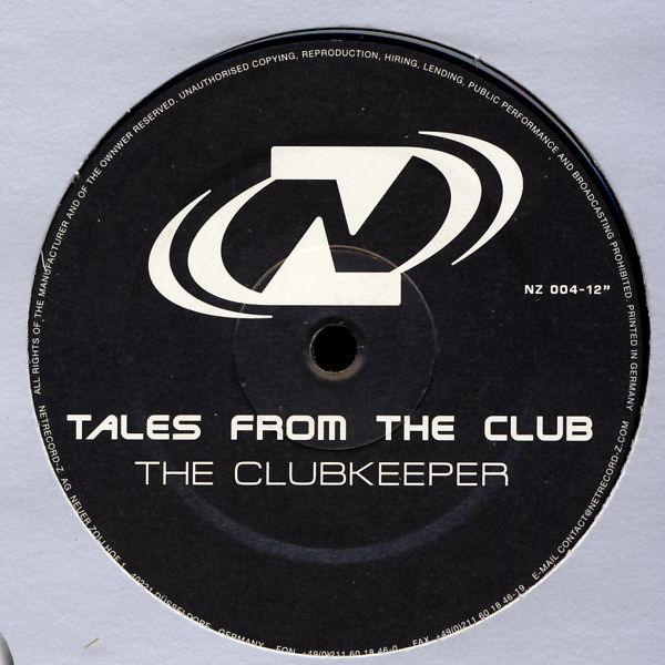 "Tales From The Club - The Clubkeeper [12"" Maxi]"