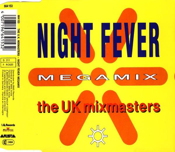 UK Mixmasters - Night Fever Megamix [CD-Single]