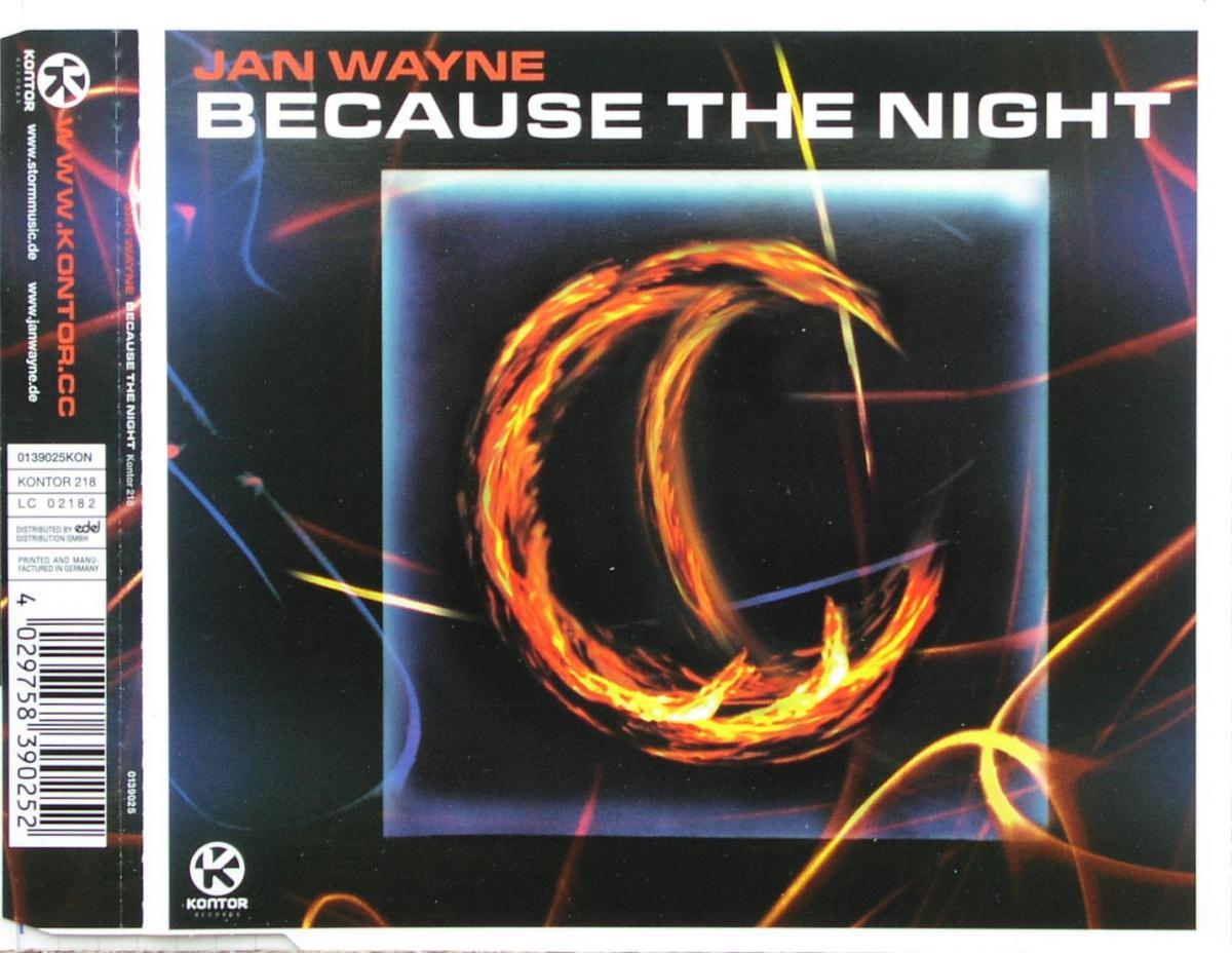Wayne, Jan - Because The Night [CD-Single]
