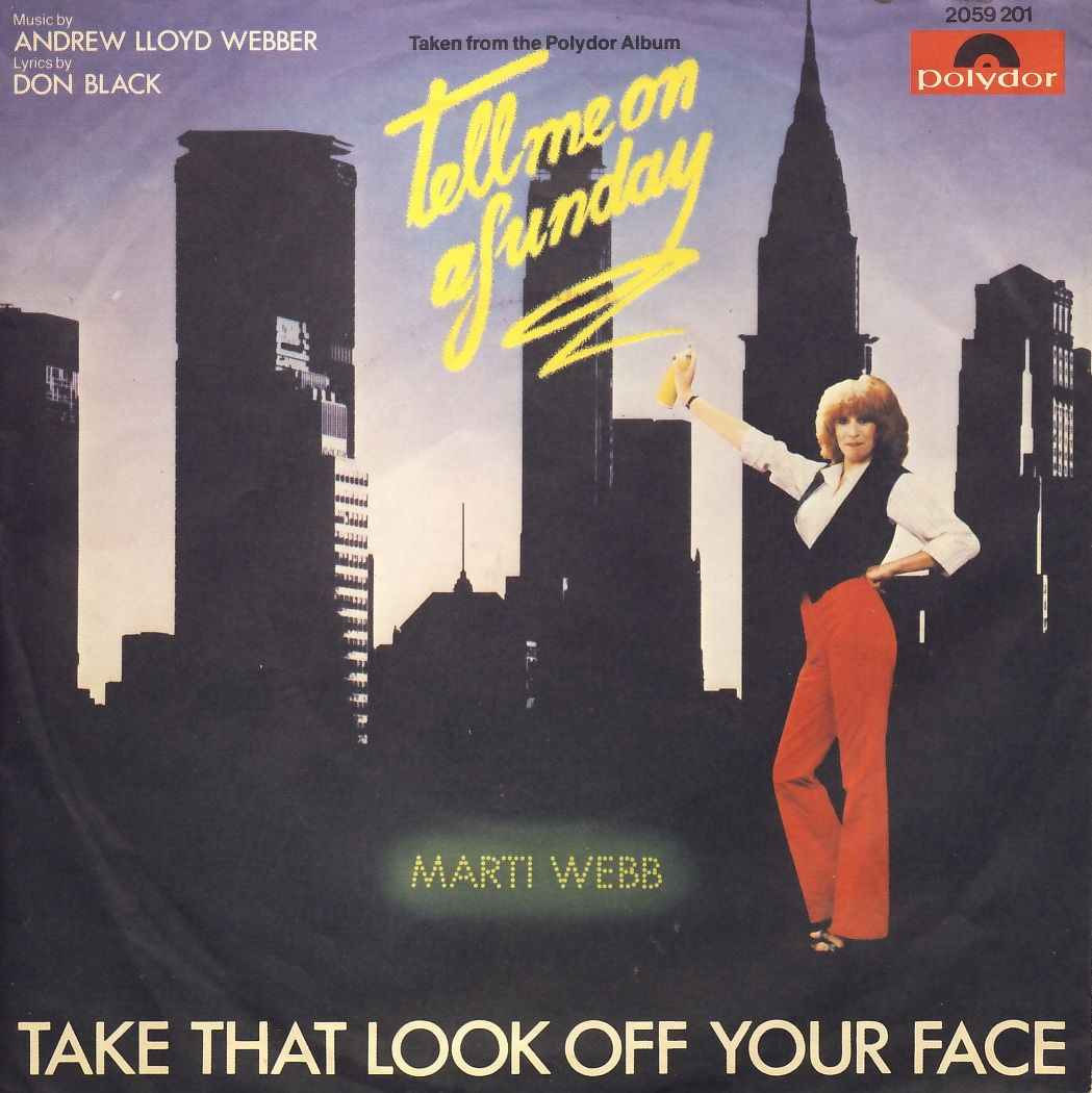 "Webb, Marti - Take That Look Off Your Face [7"" Single]"
