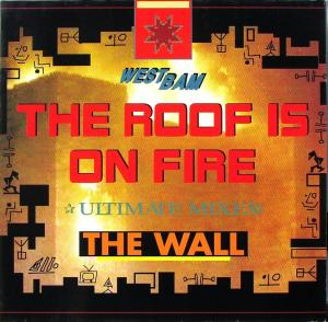 """Westbam - The Roof Is On Fire [12"""" Maxi]"""