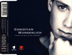 Wunderlich, Christian - That's My Way To Say Goodbye [CD-Single]
